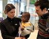 Le couple devait rester deux semaines en Haïti afin de terminer les procédures d'adoption du petit Damien, âgé de 2 ans.