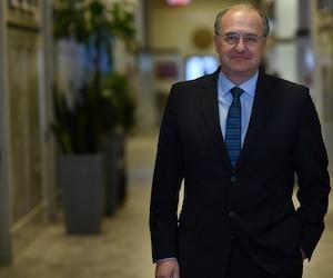 Le chef de l'opposition Paul Shoiry.