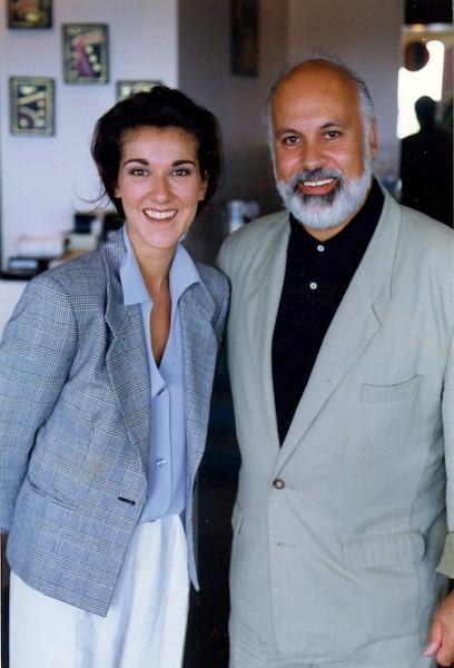 Céline Dion et René Angelil. Juillet 1992. Photo Gilles Lafrance / Le Journal de Montréal.