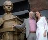 Jean-Guy et Céline White, frère et sœur, forment le duo de sculpteurs White and White.