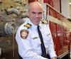 Daniel Dubois était chef pompier de Brossard depuis moins de 24 heures lorsqu'a éclaté la crise du verglas.
