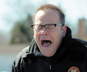 Michel Charette (Bruno Gagné) livre une performance déchirante dans les dernières secondes de l'épisode.