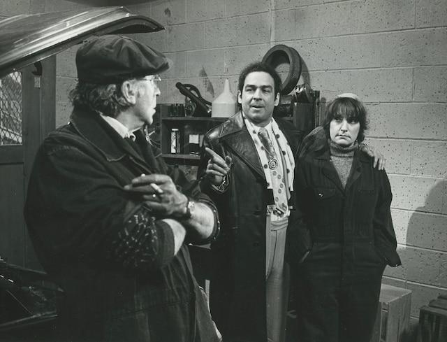 Paul Hebert, Raymond Bouchard et Amulette Garneau dans Race de monde en 1981