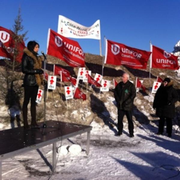Quatre cents personnes r clament la survie de l industrie for Chambre de commerce de montreal nord
