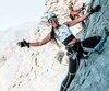 Thuymi Do a escaladé le mois dernier les montagnes d'Oman offrant les plus beaux paysages qu'elle n'avait jamais vus