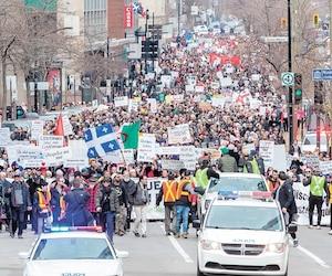 La manifestation de dimanche organisée par le collectif d'Adil Charkaoui, puis dénoncée par la communauté juive, démontre l'importance que l'État québécois reste neutre.