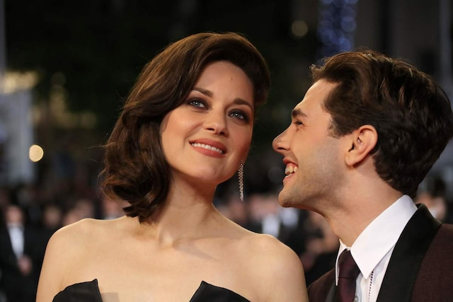 Xavier Dolan et Marion Cotillard.