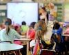 bloc école classe élève élèves