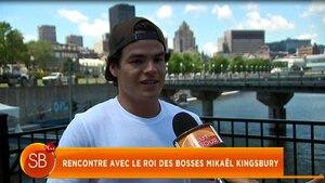 Rencontre avec le roi des bosses, Mikaël Kingsbury