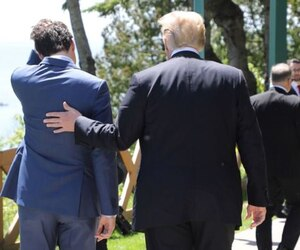 Justin Trudeau et Donald Trump