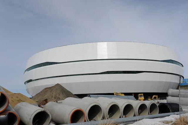 L'amphithéâtre de Québec.