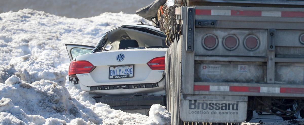 Grave accident sur l'autoroute 440 ouest