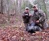 Le chasseur Steve Tardif, accompagné de son père Jean-Yves, a connu une saison de chasse fructueuse au Québec en 2016.