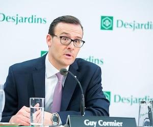 Le président et chef de la direction du Mouvement Desjardins, Guy Cormier