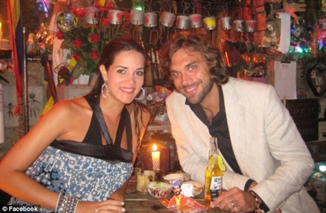 Spear Mootz, Miss Venezuela 2004 et son mari Henry Berry