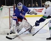 Vancouver Canucks v New York Rangers