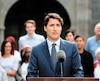 Les électeurs qui ont l'intention de voter pour Justin Trudeau appuient la loi 21 à 46 %.