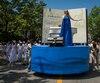 Traditionnel Défilé de la Fête nationale du Québec, intitulé Il était une fois…, sur la rue Saint-Denis entre les rues Boucher à De Rigaud, à Montréal, samedi le 24 juin 2017.