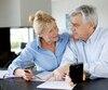 Bloc retraite argent couple agé retraite financière finances