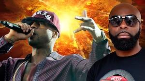 Spectaculaire bagarre entre deux superstars du rap