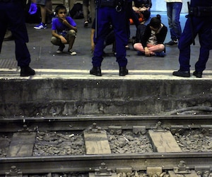 HUNGARY-AUSTRIA-EUROPE-MIGRANTS-TRAIN