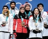 Les athlètes Gabriella Papadakis et Guillaume Cizeron, Tessa Virtue et Scott Moir, de même que Maia Shibutani et Alex Shibutani ont tous patiné, et remporté des médailles, sur des pièces créées par les Québécois Hugo Chouinard et Karl Hugo.