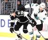 Le défenseur Marc-Édouard Vlasic, des Sharks, n'accepte tout simplement pas que les joueurs de la LNH ne puissent participer aux Jeux olympiques de Pyeongchang.