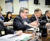 Régis Labeaume n'a pas été tendre envers les parlementaires, mardi, lors de l'étude du projet de loi155, qui touche le monde municipal, accusant les élus de vouloir changer ce qui fonctionne déjà bien selon lui.
