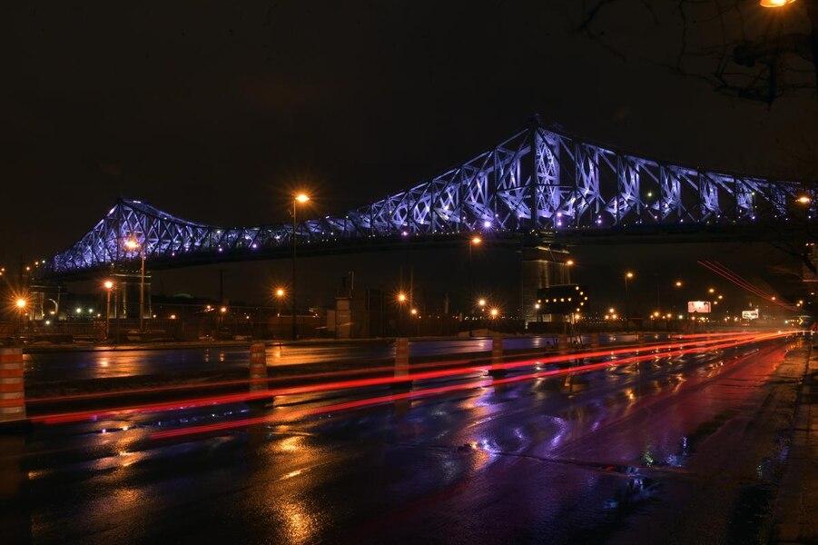 Le pont Jacques-Cartier sera de nouveau illuminé mardi soir