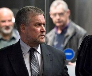 L'ancien directeur général adjoint de la SQ Jean Audette est accusé d'avoir illégalement utilisé un fonds de dépense secret.