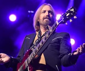 Tom Petty lors de son passage à Montréal en 2014.