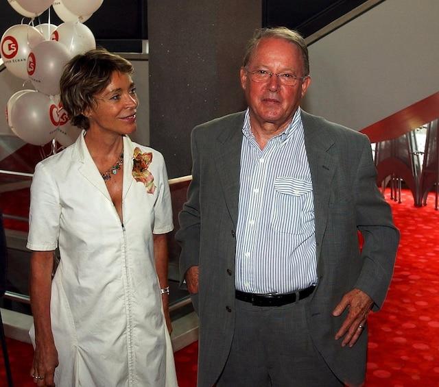 Première du film «La Grande Séduction» à la Place des arts, le 25 juin 2003. Chantal Renaud et Bernard Landry.