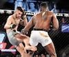Charles «Air» Jourdain a offert une impressionnante prestation contre Damien Lapilus, lors du gala TKO présenté au Complexe sportif Claude-Robillard, le 11 avril dernier.