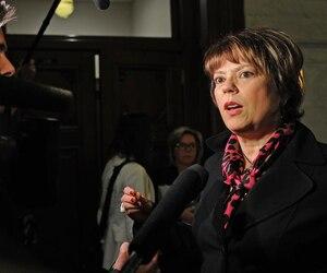 Hélène David, ministre de la Culture et des Communications.