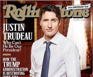 Justin Trudeau Rolling Stone
