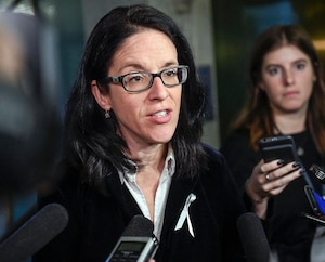 La ministre de la Justice, Sonia LeBel