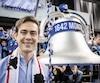 L'ancien porte-couleurs de l'Impact Cameron Porter a accepté l'invitation du groupe de partisans 1642 MTL de venir sonner la cloche au match d'ouverture à domicile.