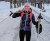 Lydiane St-Onge s'apprête à participer à la Traversée de la Gaspésie à ski de fond, même si elle n'a fait que quatre sorties de ski de fond comme entraînement.