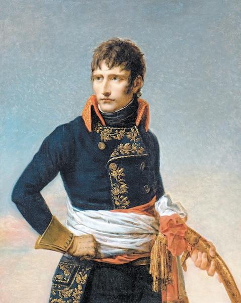 <b>Portrait de Napoléon Bonaparte, Premier consul, par Andrea Appian, 1801</b></br> <b>Huile sur toile.</b></br>  Des artistes tels que Appiani se voyaient imposer des contraintes précises pour mettre en place une propagande visuelle à la gloire du chef de l'État.