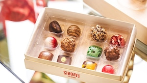 Image principale de l'article Chocolats Favoris lance des chocolats alcoolisés