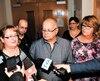 Danielle (à gauche) et Johanne Tremblay (mères de deux des trois victimes d'Yves Martin) ont du mal à faire leur deuil un an jour pour jour après l'annonce de la sentence. Martin a été condamné à 14 ans de pénitencier.