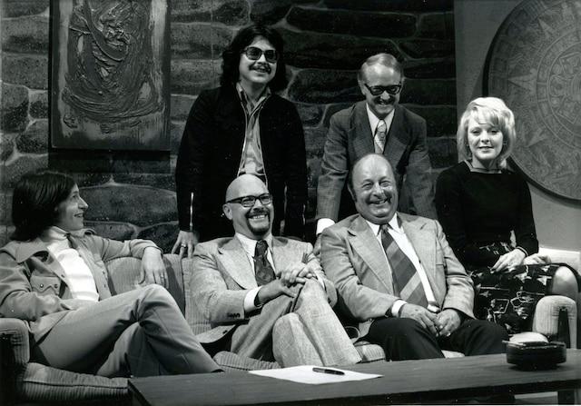 1972<br /> Roch Poisson,  Pierre Leblanc,  Jean-Claude Lord,  André Robert,  Jacques Matti et  Carmen Parizeault