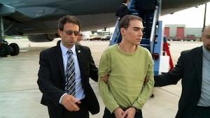 Luka Rocco Magnotta à son retour au pays