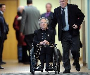 La dernière fois, Lise Thibault s'est adressée au tribunal en mentionnant ne pas pouvoir imaginer que ses petits-enfants auront à vivre avec le souvenir d'une grand-mère que l'on «traite de voleuse».