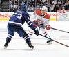 Max Domi et ses coéquipiers du Canadien ont fourni un bel effort face aux Leafs mercredi.