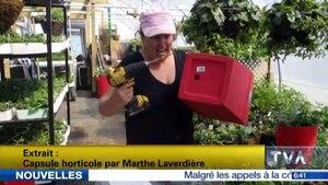 Une horticultrice fait sensation sur le web!