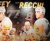 Une photo de Mark Recchi a été ajoutée sur un mur avec d'autres anciens joueurs à Pittsburgh, près du vestiaire de l'équipe.