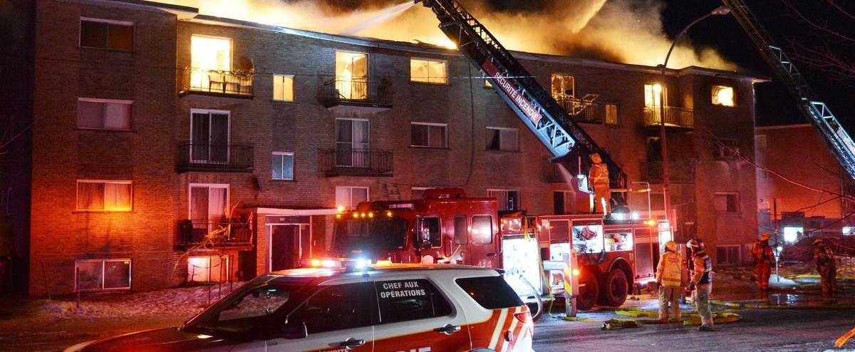 Un ado serait à l'origine de l'incendie mortel à Longueuil