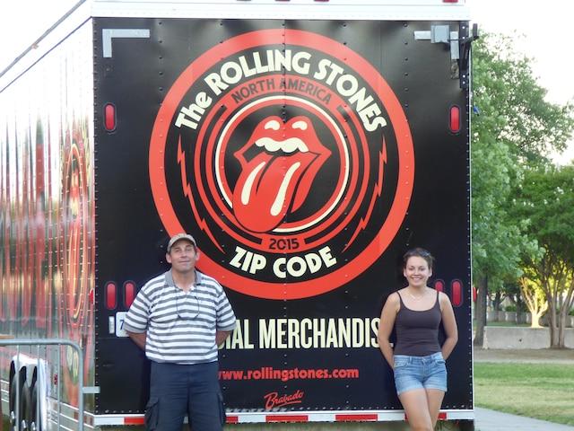Éric Villedieu a vu les Stones dans plusieurs pays, dont les États-Unis.
