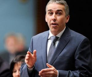 Nicolas Marceau, porte-parole en matière de finances pour le Parti québécois.